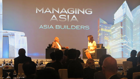 One-on-one interview with global architect Mr Moshe Safdie.