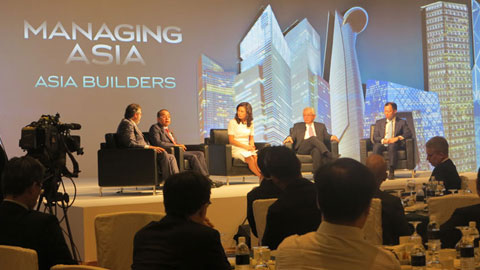 Panel discussion with business leaders who have shaped the Asian landscape.