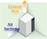 Exhaust Port - Air Section