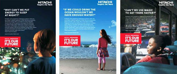 Hitachi Launches Global Brand Campaign